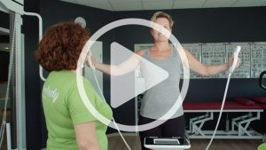 Fitness Check-up Video im activelady Fitnessstudio Neuwied