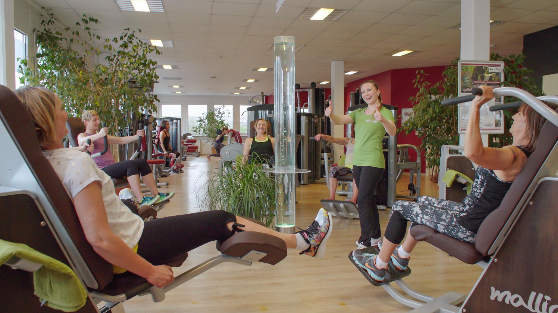 Gemeinsam trainieren im activelady Fitnessstudio Neuwied